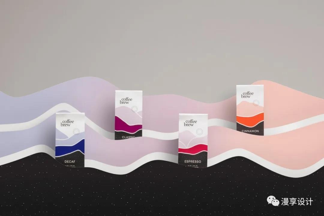 简约风的咖啡品牌创意包装设计